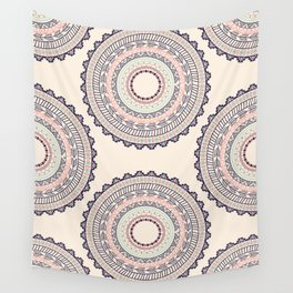 Aztec ornament pattern Wall Tapestry