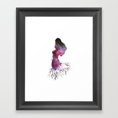 Rooted In The Stars Framed Art Print