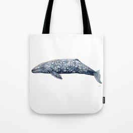 Grey whale Tote Bag