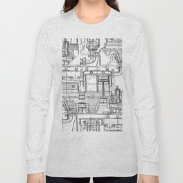 Engineered Sketch Long Sleeve T-shirt