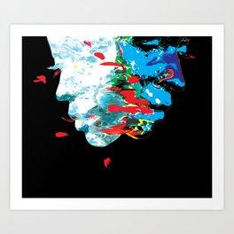 reflections Art Print