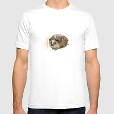 Little hedgehog White Mens Fitted Tee MEDIUM