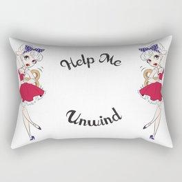 Dancing Doll Rectangular Pillow