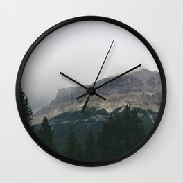 Above the Tree Line pt2 Wall Clock