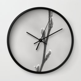 Branch and Bud Wall Clock
