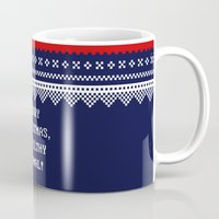 home alone Mugs featuring Home Alone – Merry Christmas, Ya Filthy Animal! by Enyalie