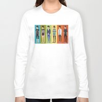 tegan and sara Long Sleeve T-shirts featuring Tegan and Sara: Tegan collection by Cas.