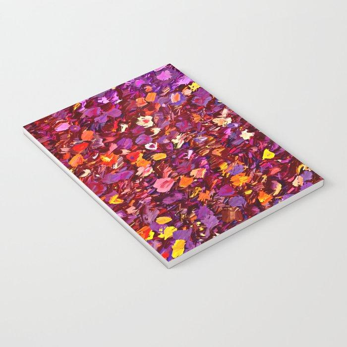 Straw Flowers in the Field Notebook