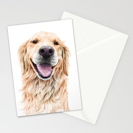 Golden Retriever Stationery Cards