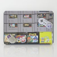 nintendo iPad Cases featuring Super Nintendo by Kelsey Spinn