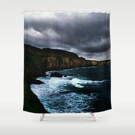 Irish Seascape Shower Curtain