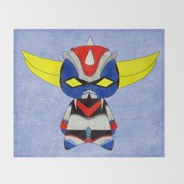 A Boy - Grendizer aka Goldorak Throw Blanket