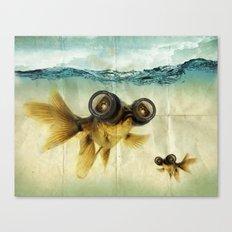 Fish eye lens 02 Canvas Print