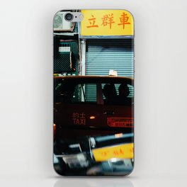 Taxicab Driver (Color) iPhone Skin