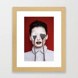 Lotus nervus Framed Art Print
