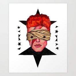 Aladdin Blackstar Art Print