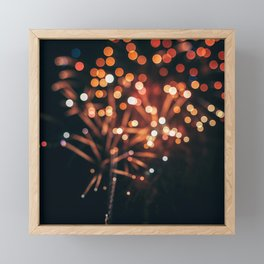 July Skies #1 Framed Mini Art Print