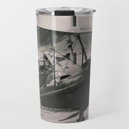 Vintage Aircraft print Travel Mug