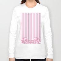 rockabilly Long Sleeve T-shirts featuring rockabilly lines by La Señora