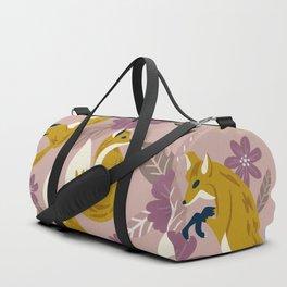 Foxes & Blooms – Lavender Palette Duffle Bag