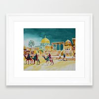 israel Framed Art Prints featuring Israel 1 by CarolBoerckel