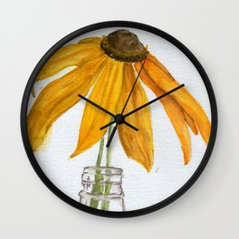 Solar Solo Wall Clock