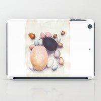 eggs iPad Cases featuring Eggs by Bridget Davidson