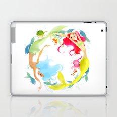 Mermaid Circle Laptop & iPad Skin