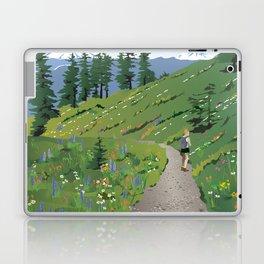 Silver Star Mountain Laptop & iPad Skin
