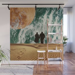 I LOVE YOU TO THE MOON AND BACK #society6 Wall Mural