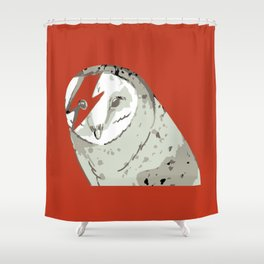 Labyrinth movie jareth Owl Shower Curtain