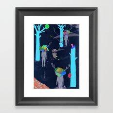 pretence Framed Art Print