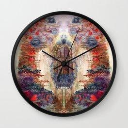 Misterious Garden Wall Clock