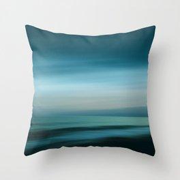 Dreamscape #1 - Seascape Dream Throw Pillow