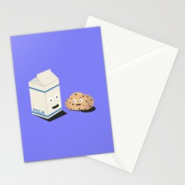 Cookies and Milk best friends Stationery Cards