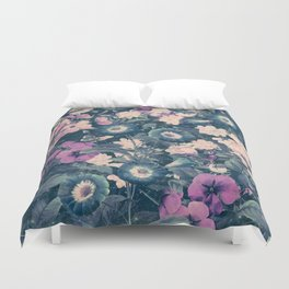 Floral Nights Space Dreams Duvet Cover