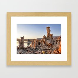 Tufa Towers at Mono Lake 1 Framed Art Print