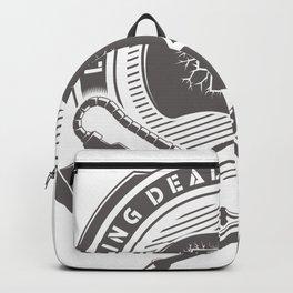 living dead division Backpack