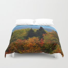 Mont Albert From Afar Duvet Cover