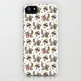 Cute Trendy Gardening Nature Flowers Watering Can iPhone Case