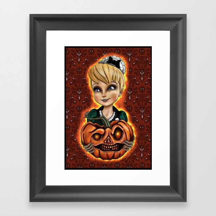 Tink or Treat by Topher Adam 2017 Framed Art Print
