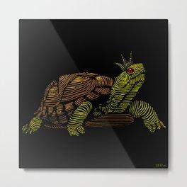 King of the Turtles!  Metal Print