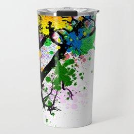 The Tree Of Many Colors Travel Mug