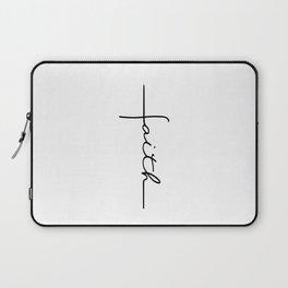 Faith Cross Laptop Sleeve