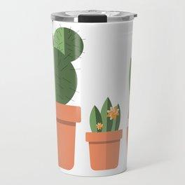 Potted Plant Family Travel Mug