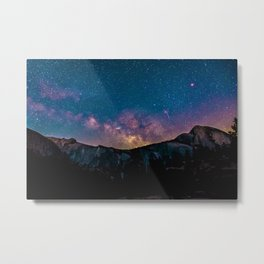 Mountain Stars Metal Print