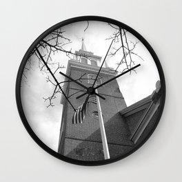 North Church photography Wall Clock