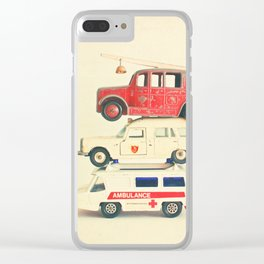 Who Will Help Us Now? Clear iPhone Case