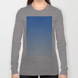 Sky Blue Gradient Long Sleeve T-shirt