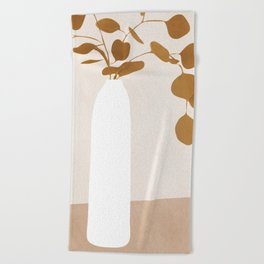 Plant Beach Towel